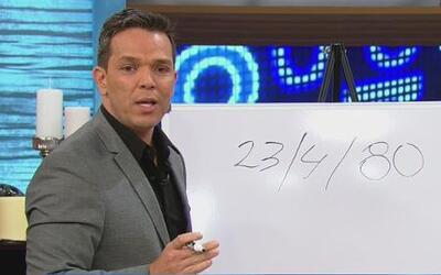 El numerólogo Javis, predijo la suerte de Johnny, Marjorie y Pedro