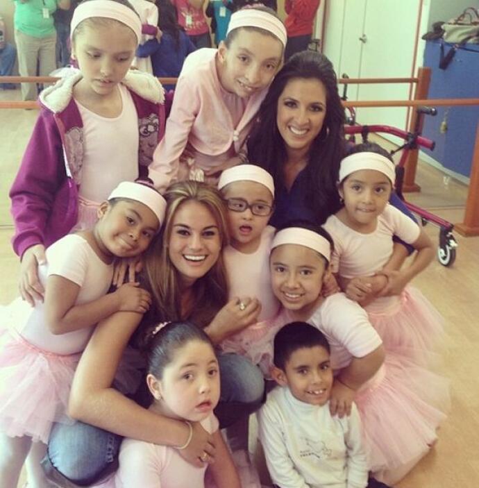 """""""Gracias #BalletTeleton por dejarme compartir con ustedes! Las quiero mu..."""