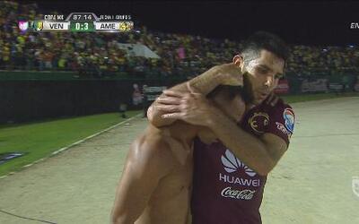 Carlos Rosel anota un golazo para sellar la goleada de América sobre Ven...
