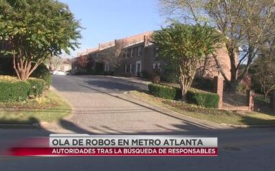 Ola de robos en metro Atlanta