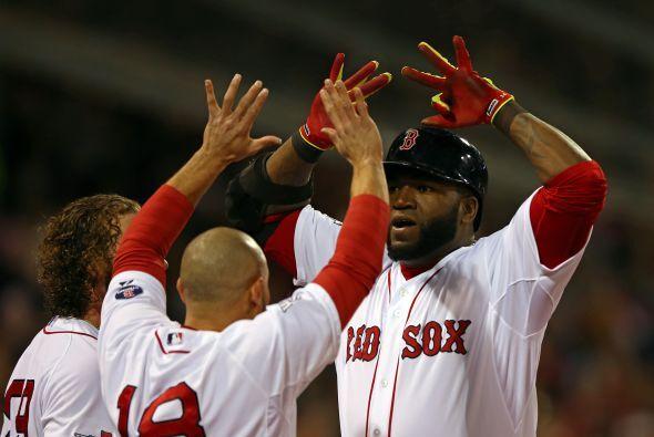 Con homerun en la sexta entrada, David Ortiz le dio la ventaja a Boston...