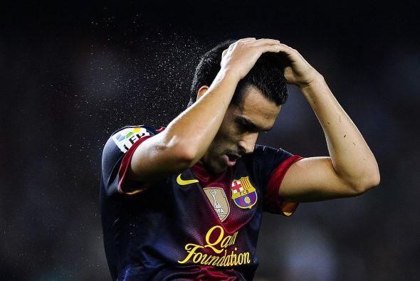 Los jugadores del Barcelona desesperaron y trataron de todas las formas...