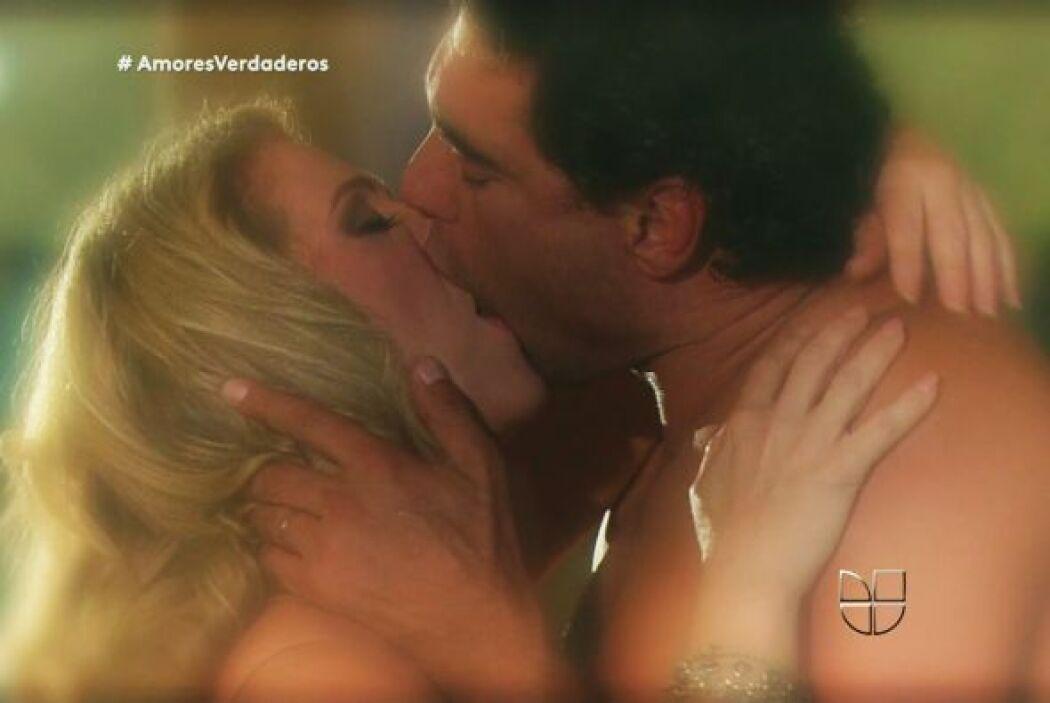 Y sus besos sí eran verdaderamente apasionados.