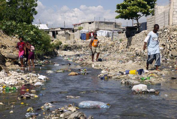 La mayoría de los haitianos simplemente se acostumbraron a la pre...