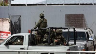 Autoridades del gobierno de Jalisco reportaron que sujetos desconocidos...