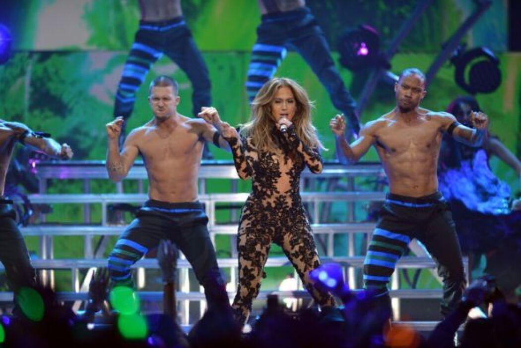 Así se mueve Jennifer Lopez.