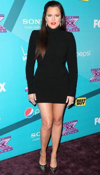 Las prendas negras inundaban el clóset de esta Kardashian, quien se sent...