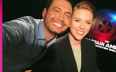 Una selfie con 'Captain America: The Winter Soldier'