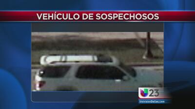 Buscan camioneta de asesinos en Texas