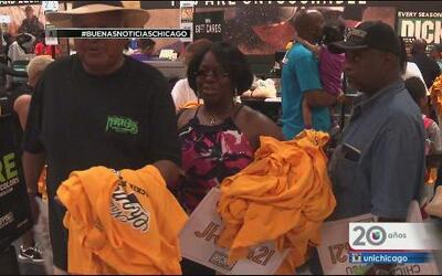 """Locura por camisetas de """"Jackie Robinson West"""""""