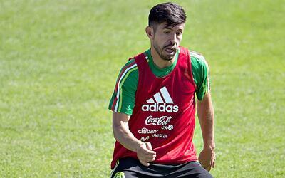 """Oribe Peralta: """"No me importa si somos o no el gigante, lo importante es..."""