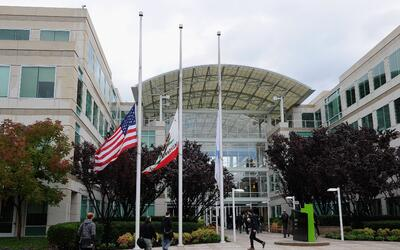 Las oficinas centrales de Apple se encuentran en la ciudad de Cupertino...