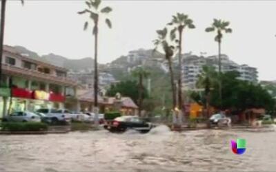 Tormenta tropical Sonia se desplaza por el Pacífico