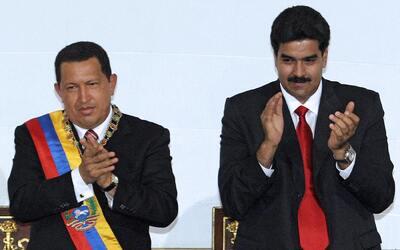 El presidente de la República Bolivariana de Venezuela, Hugo Ch&a...