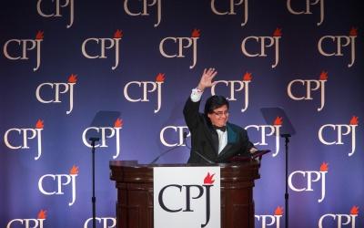 Cándido Figueredo, periodista paraguayo.