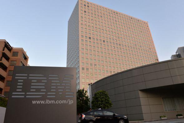 IBM es la sigla de 'International Business Machines'