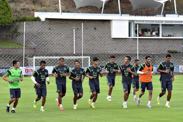 Los nueve jugadores convocados a selección mexicana ya realizan e...