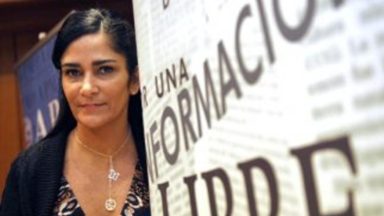 La escritora y periodista mexicana Lydia Cacho.