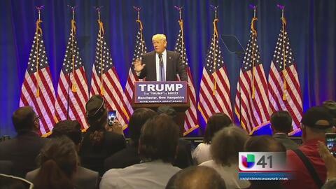 Líderes hispanos dispuestos a inclinarse por Donald Trump