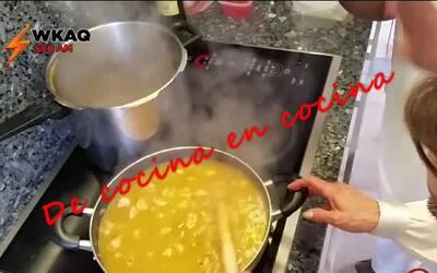De Cocina en cocina…Risotto de Camarones