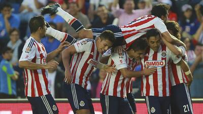 Cruz Azul 1 - Chivas 2: Chivas da la vuelta el marcador en 3 minutos