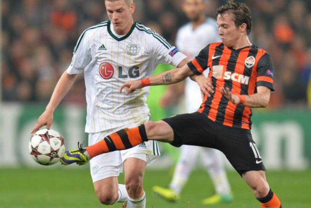 Finalmente, el Bayer Leverkusen no pasó del empate sin goles ante el Sha...