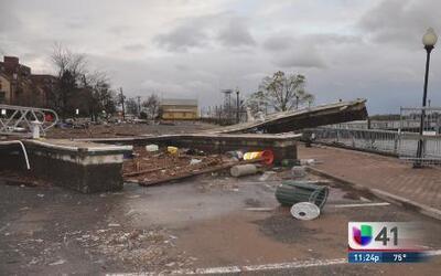 Perth Amboy aún se recupera del huracán Sandy