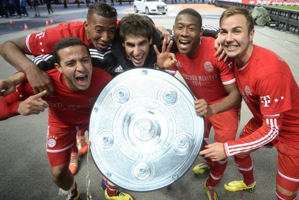 En marzo el Bayern se convirtió en el equipo que se corona más temprano...
