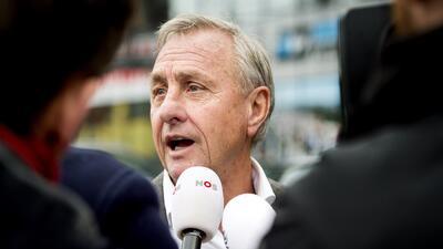 """Cruyff: """"¿Cómo Blatter se presenta a las elecciones y después desaparece..."""