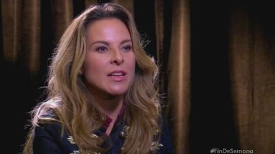 """Kate del Castillo sobre posible participación en película de """"El Chapo"""""""