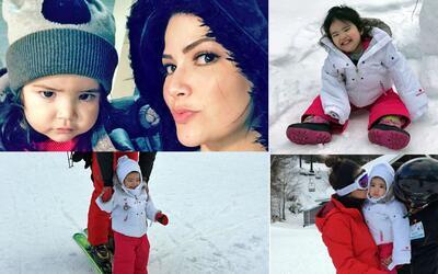 baby Giulietta esquiar Despierta América