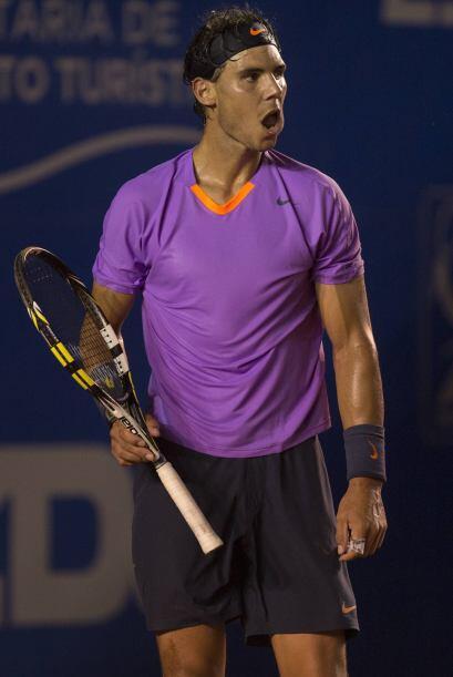 Ahora, Nadal tendrá como próximo rival a otro argentino, Leonardo Mayer...