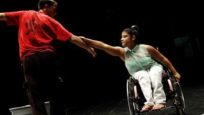 Pasión de bailarínes discapacitados