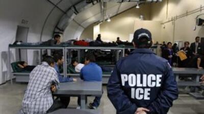 Un centro de detención de ICE.