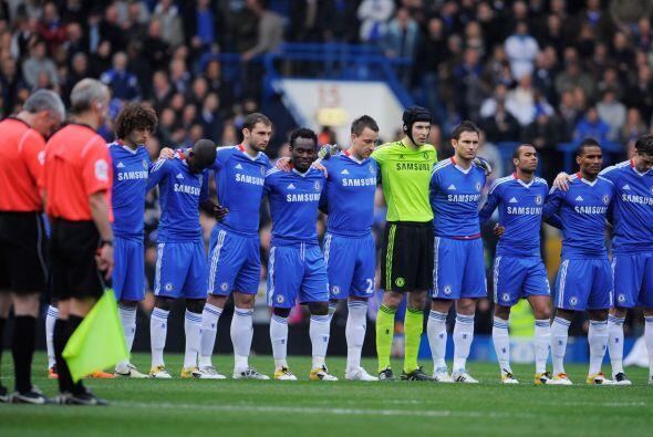 También previo al juego se rindió un pequeño homenaje a todas las víctim...