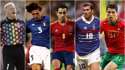 Vota por el 11 ideal de la Euro en UEFA.com