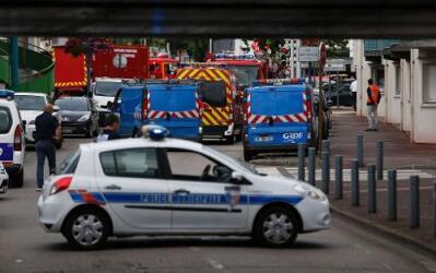 Toma de rehenes en Rouen, capital de Normandía, en Francia