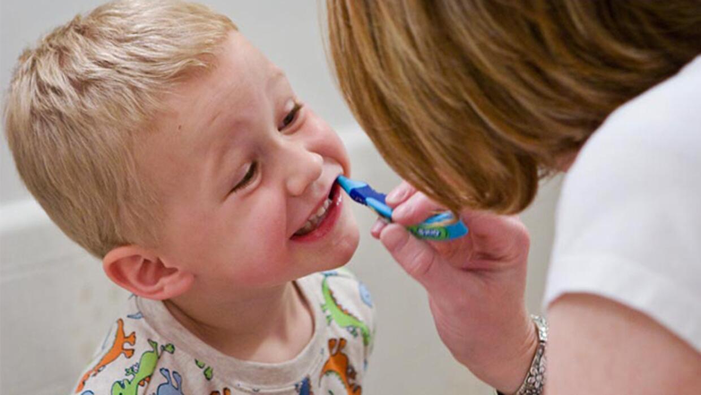 Practice good dental hygiene at home