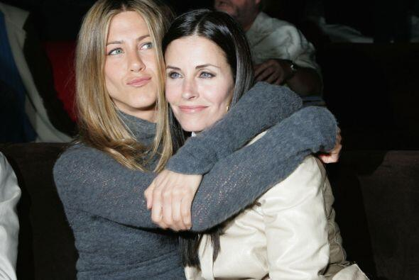 Courtney Cox y Jennifer Aniston