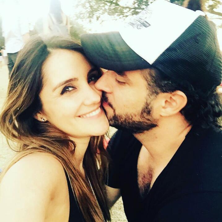 Dulce María y su novio Paco Álvarez.