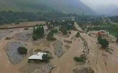 Desde el aire, así es el desolador panorama de Perú tras las lluvias tor...