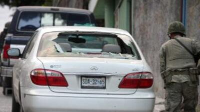 El presidente Felipe Calderón admitió que el 2010 fue el año más violento.