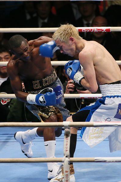 Poco a poco Rigondeaux fue tomando control de la pelea y parecía tener t...