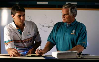 Don y Mike Shula