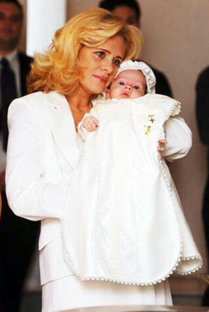 En 2005 Érika se convirtió en mamá del peque&ntilde...