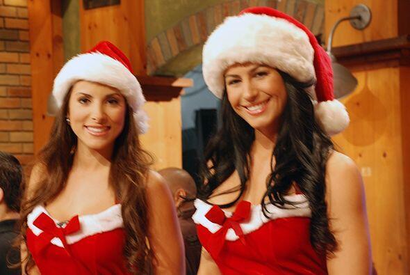 Aquí las tienes de regalo de Navidad...