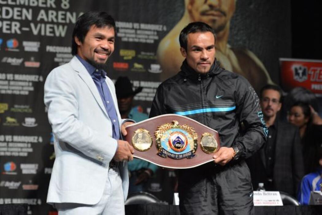 Este será el cinturón que disputarán Pacquiao y Márquez, el que lo gané...