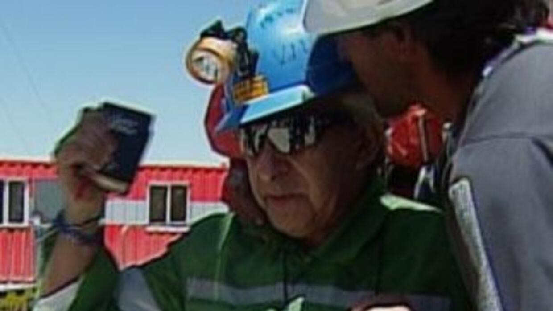 Omar Reygadas, 17mo minero rescatado