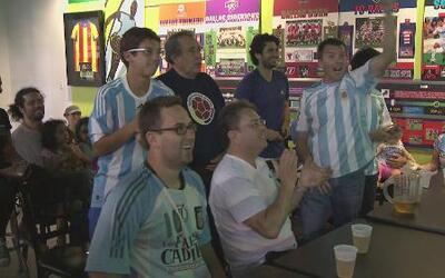 Argentinos de fiesta