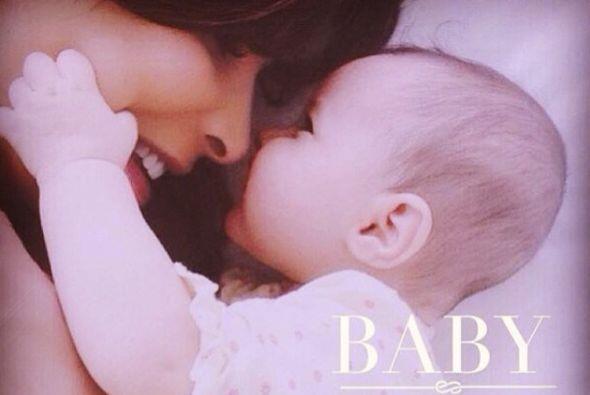 Así fue como su hermosa bebé llegó a su vida para c...